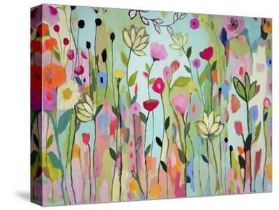 Flowers-Carrie Schmitt-Stretched Canvas Print