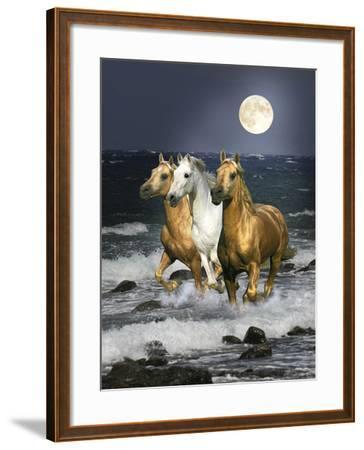 Dream Horses 068-Bob Langrish-Framed Photographic Print