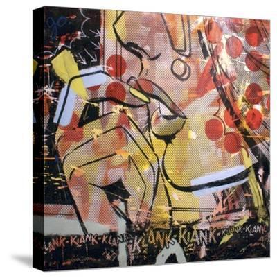 Klank Klank-Dan Monteavaro-Stretched Canvas Print