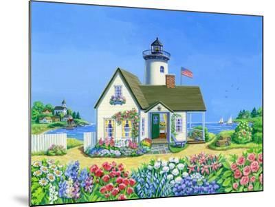 Lighthouse Cottage-Geraldine Aikman-Mounted Giclee Print