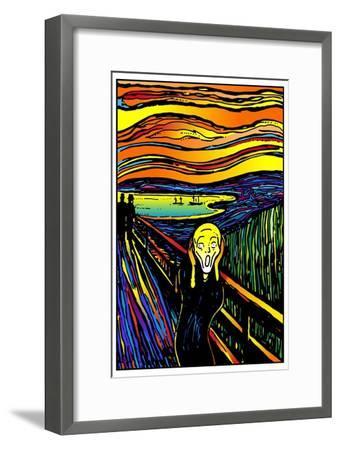 Scream 2-Howie Green-Framed Giclee Print