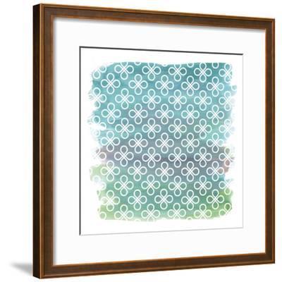 Watercolor Pat4-Erin Clark-Framed Giclee Print