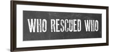 Rescued-Erin Clark-Framed Giclee Print