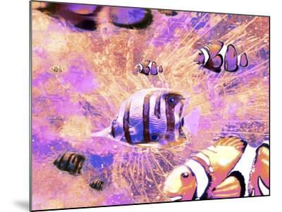 Undersea LVI-Fernando Palma-Mounted Giclee Print