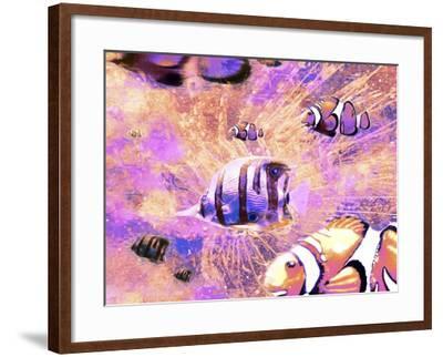 Undersea LVI-Fernando Palma-Framed Giclee Print
