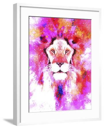 Lion Mix 2-XLI-Fernando Palma-Framed Giclee Print