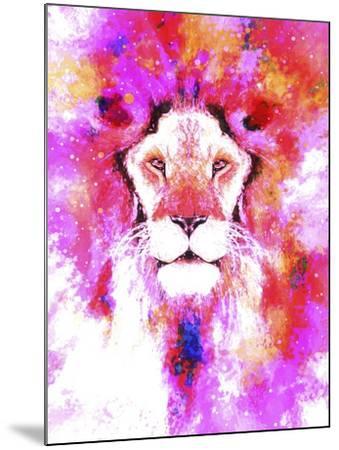 Lion Mix 2-XLI-Fernando Palma-Mounted Giclee Print