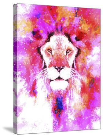 Lion Mix 2-XLI-Fernando Palma-Stretched Canvas Print