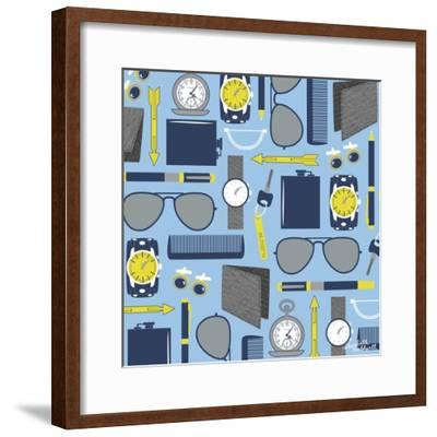 Mens Accessories-Elizabeth Caldwell-Framed Giclee Print