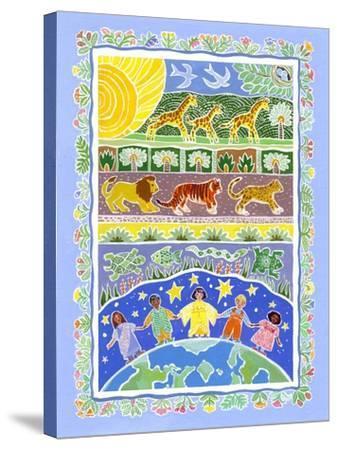 Children of the World-Geraldine Aikman-Stretched Canvas Print