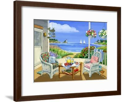 Wicker Porch-Geraldine Aikman-Framed Giclee Print