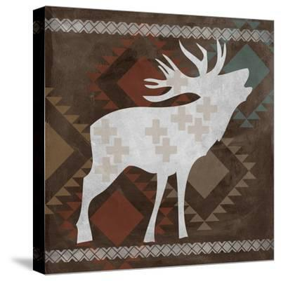 Moose-Erin Clark-Stretched Canvas Print