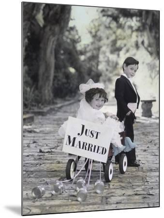Just Married-Gail Goodwin-Mounted Giclee Print