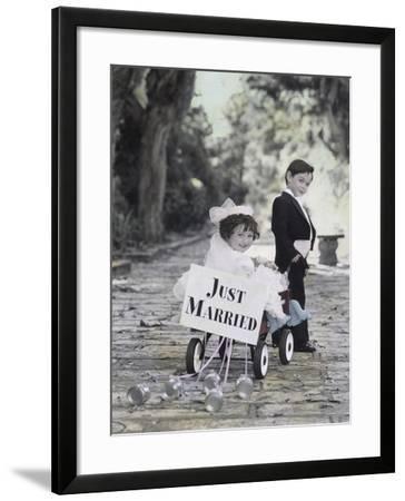 Just Married-Gail Goodwin-Framed Giclee Print