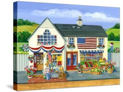 4th of July Market-Geraldine Aikman-Stretched Canvas Print