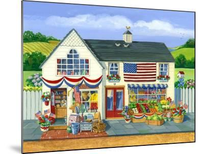 4th of July Market-Geraldine Aikman-Mounted Giclee Print