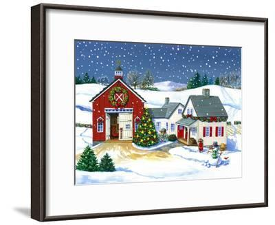 The Gibson Barn-Geraldine Aikman-Framed Giclee Print