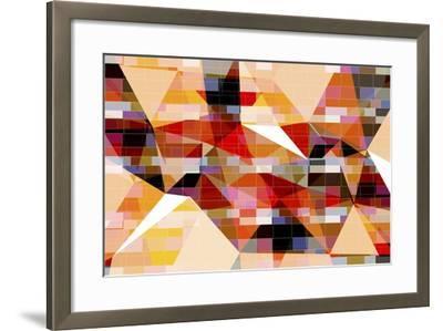 Triangle 7-LXXVII-Fernando Palma-Framed Giclee Print