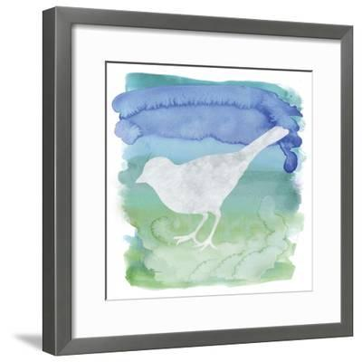Watercolor Bi4-Erin Clark-Framed Giclee Print