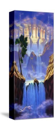 Christian Zion-Jeff Haynie-Stretched Canvas Print