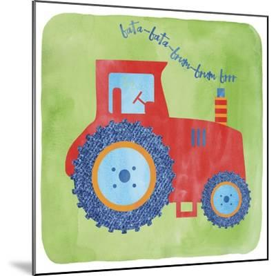 Tractor-Erin Clark-Mounted Giclee Print