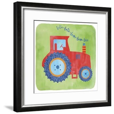 Tractor-Erin Clark-Framed Giclee Print
