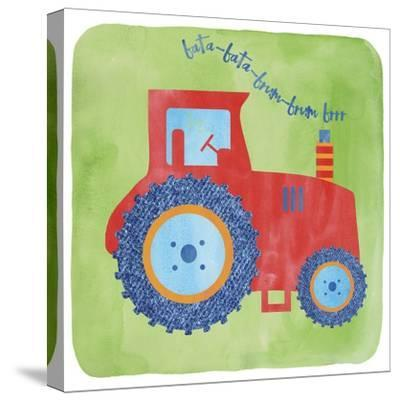Tractor-Erin Clark-Stretched Canvas Print