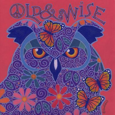 Great Horned Owl-Denny Driver-Giclee Print