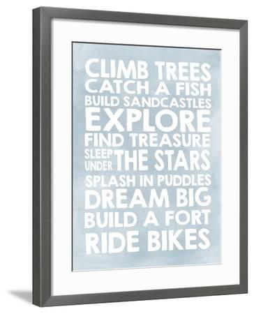Climb Trees-Erin Clark-Framed Giclee Print
