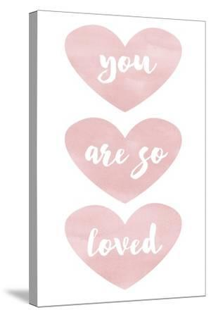 Loved-Erin Clark-Stretched Canvas Print