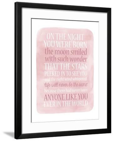 Girl Night Born-Erin Clark-Framed Giclee Print