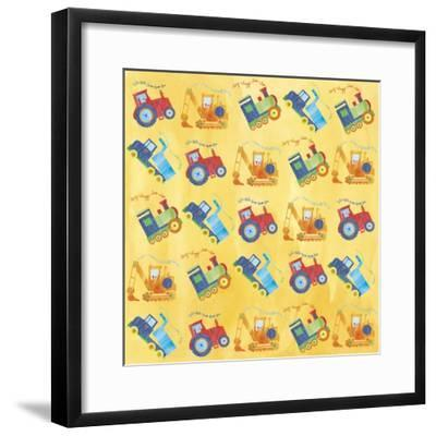 Vehicle Wrap F-Erin Clark-Framed Giclee Print