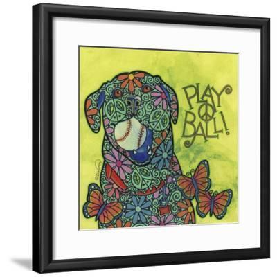 Yellow Labrador #2-Denny Driver-Framed Giclee Print