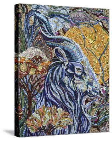 Full Moon-Erika Pochybova-Stretched Canvas Print