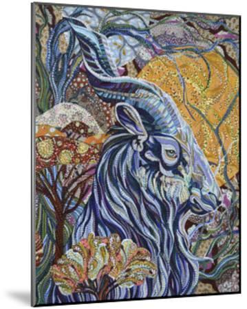 Full Moon-Erika Pochybova-Mounted Giclee Print