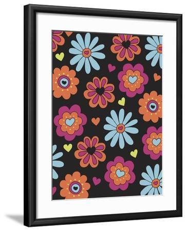 Forest Whimsey-Esther Loopstra-Framed Giclee Print