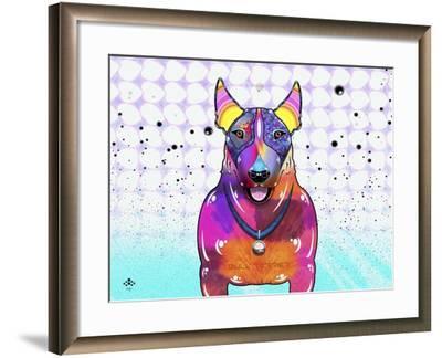 Bull Terrier XI-Fernando Palma-Framed Giclee Print