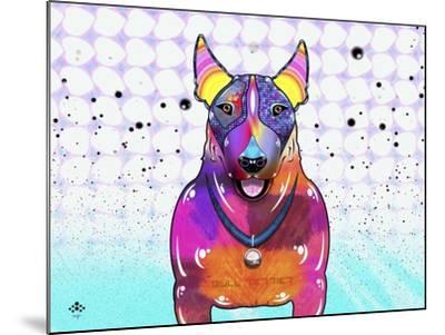 Bull Terrier XI-Fernando Palma-Mounted Giclee Print