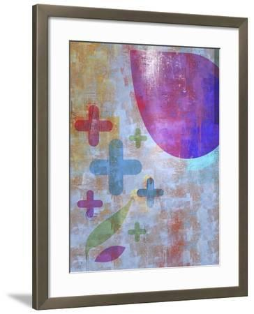 Graphic Abstract 1-Greg Simanson-Framed Giclee Print