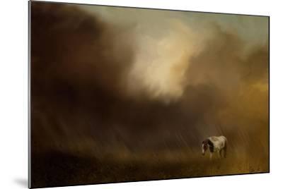 Traveling Through the Storm-Jai Johnson-Mounted Giclee Print
