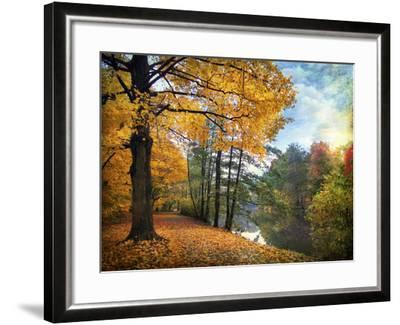 Golden Carpet-Jessica Jenney-Framed Photographic Print