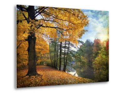 Golden Carpet-Jessica Jenney-Metal Print