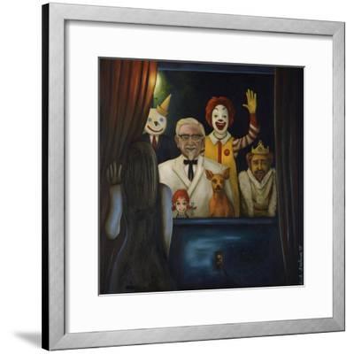 Fastfood Nightmare #4-Leah Saulnier-Framed Giclee Print