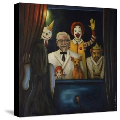 Fastfood Nightmare #4-Leah Saulnier-Stretched Canvas Print