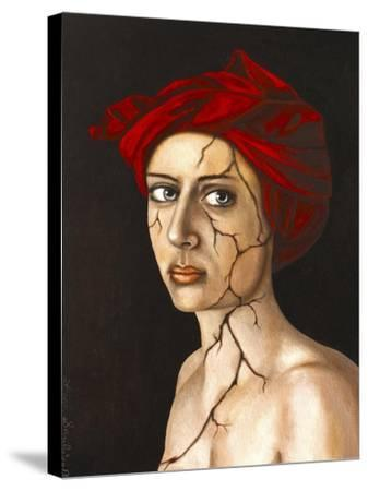Fractured Identity-Leah Saulnier-Stretched Canvas Print