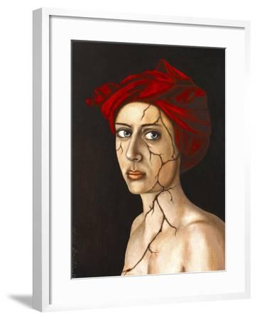 Fractured Identity-Leah Saulnier-Framed Giclee Print