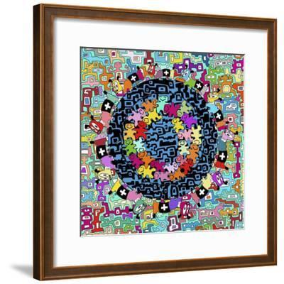 Mix 1-Miguel Balb?s-Framed Giclee Print