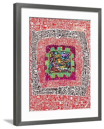 Maze 4-Miguel Balb?s-Framed Giclee Print