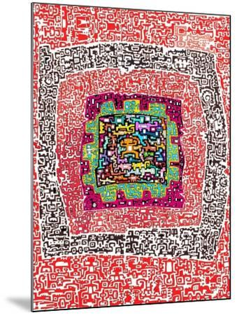 Maze 4-Miguel Balb?s-Mounted Giclee Print