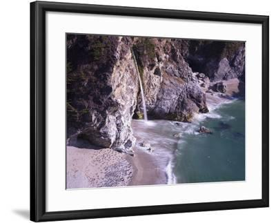 Waterfall Beach 2-Moises Levy-Framed Photographic Print